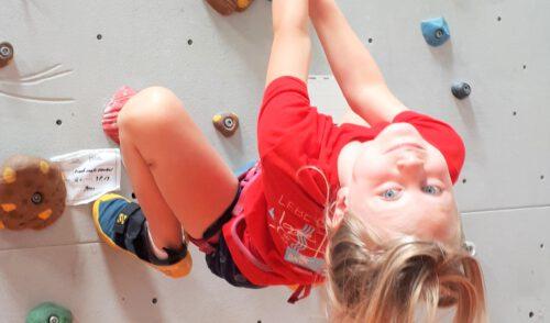 Artikelbild zu Artikel Freie Plätze beim Grundkurs Klettern für Kinder in den Herbstferien